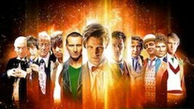 Les 50 ans de Doctor Who : les nombreux visages du Docteur (PHOTOS)