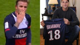 Cavani, Ronaldinho, Vieri, Beckham, Raï : le top 15 des stars qui ont rejoint la Ligue 1