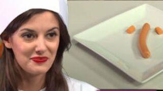 Pour MasterChef, la Speakerine présente un menu de mariage... salé (VIDEO)