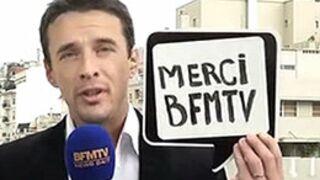 François-Xavier Ménage fait ses adieux à BFMTV