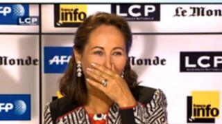 La boulette de Ségolène Royal à la télé... (VIDEO)