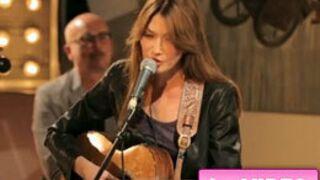 W9 Home Concerts : les premières images du concert de Carla Bruni (VIDEO)