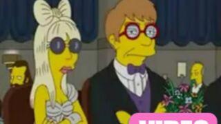 Lady Gaga débarque dans Les Simpson (VIDEO)