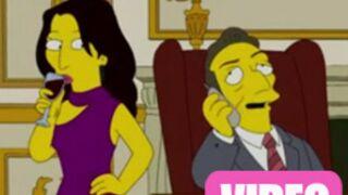 Nicolas et Carla Sarkozy dans les Simpson (VIDEO)