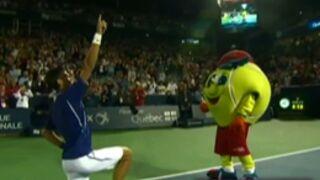 Tennis : Novak Djokovic déchaîné sur Get Lucky de Daft Punk (VIDEO)