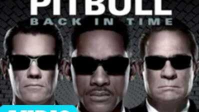 Pitbull signe la BO de Men in Black 3 (AUDIO)