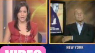 Buzz : Il s'endort en pleine interview à la télévision ! (VIDEO)