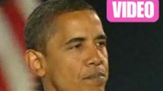 Vidéo : le discours d'Obama après sa victoire