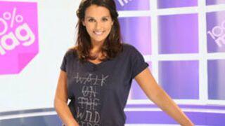 Faustine Bollaert annonce sa grossesse dans 100% Mag !