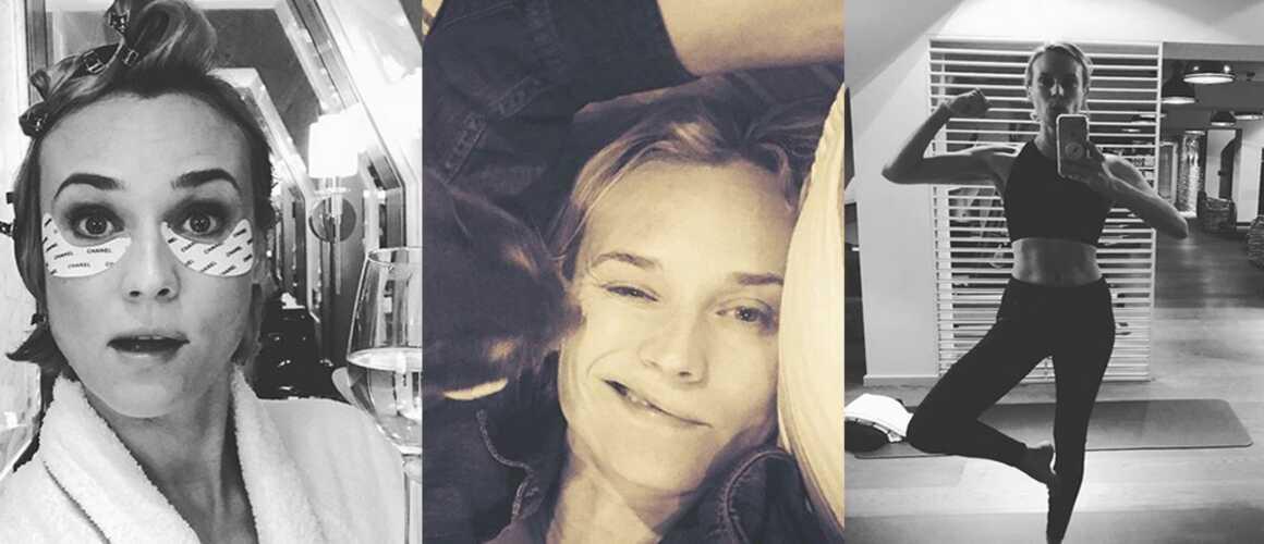 diane kruger sans identit tf1 selfie sport sieste le meilleur de son compte instagram. Black Bedroom Furniture Sets. Home Design Ideas