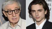Harcèlement : après Rebecca Hall, Timothée Chalamet donne aussi son salaire du film de Woody Allen