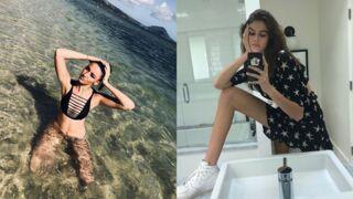 Instagram : Delphine Wespiser pose en bikini, les très longues jambes de Kaia Gerber... (35 PHOTOS)