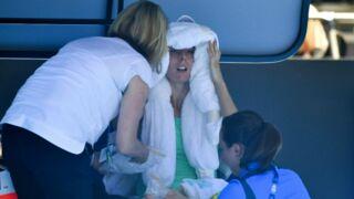 """Tennis : Alizé Cornet pique une grosse colère, """" j'avais l'impression d'être dans un four"""""""