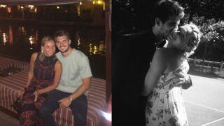 Tatiana Golovin et Hugo Bonneval, couple de champions et parents comblés !