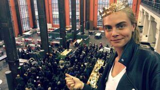 Valerian : Cara Delevingne poste une première photo du tournage du nouveau film de Luc Besson