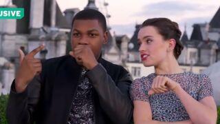 Star Wars - le réveil de la force : Daisy Ridley et John Boyega futures stars du rap ? (VIDEO)