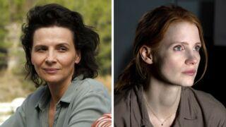Juliette Binoche et Jessica Chastain s'associent pour défendre les femmes au cinéma
