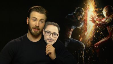 Captain America Civil War (TF1) : on a rencontré Chris Evans et sa team (VIDÉO)