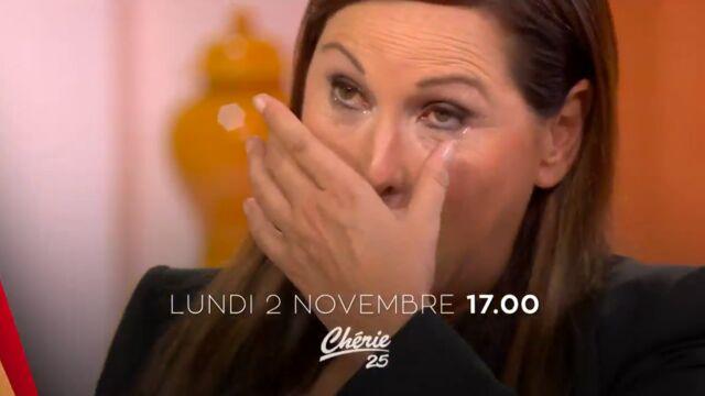 Evelyne Thomas émue aux larmes dans la bande-annonce de C'est mon choix sur Chérie 25