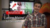 """Lucien Maine (Le décodeur, W9) : """"Vanessa Demouy était une excellente surprise"""" (VIDEO)"""