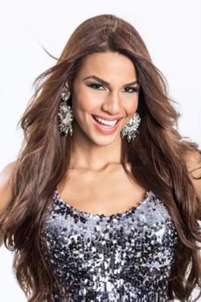 Voici Cinthya Maria Nunez, représentante de la République Dominicaine