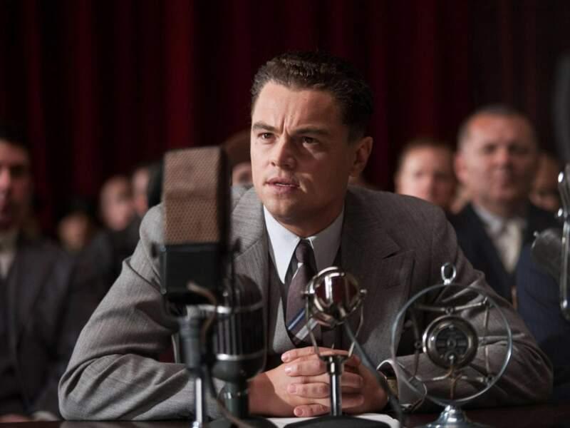 Sous la direction du grand Clint Eastwood, Leonardo incarne J. Edgar Hoover sur de nombreuses années