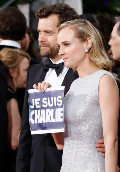 Diane Kruger et son compagnon Joshua Jackson sont Charlie
