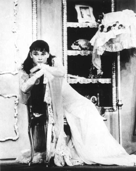 """C'est le succès de """"Gigi"""" à Broadway qui lui ouvre les portes d'Hollywood (1951)"""