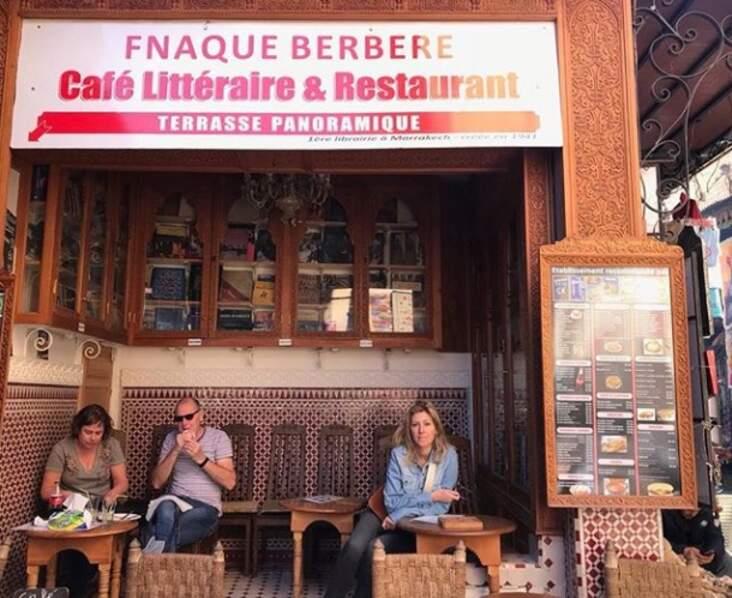 Amanda Sthers a préféré Marrakech
