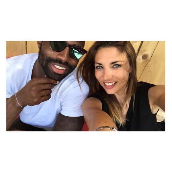 Et nouvelle photo pour Ariane Brodier et son chéri rugbyman Fulgence Ouedraogo.