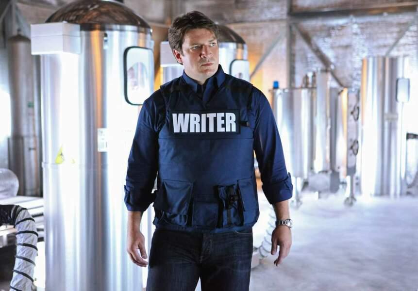 Saison 4, Nathan Fillion a clairement de l'embonpoint