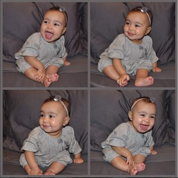 Ouvrons notre parenthèse bébé avec l'adorable North, fille de Kanye West et Kim Kardashian
