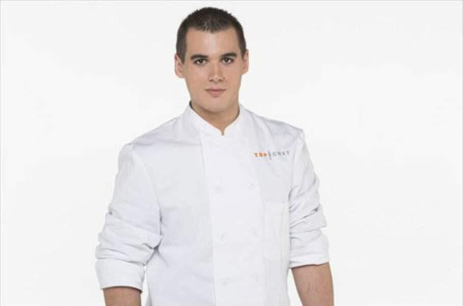 Vincent Gomis (Carcassonne) 21 ans