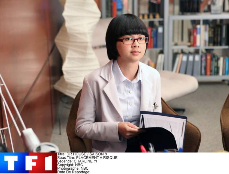 Chi Park est l'interne affectée au docteur House pendant sa période probatoire au sein du Princeton-Plainsboro