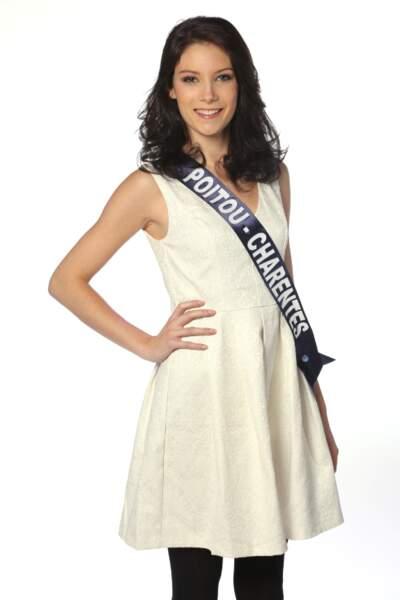 Laura Pierre, Miss Poitou-Charentes 2013