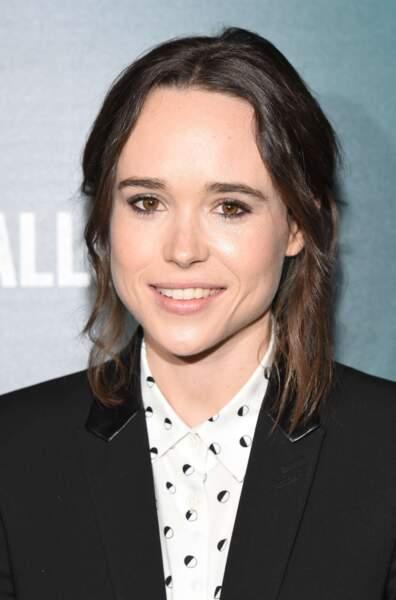 """Elue """"végétarienne la plus sexy"""" en 2014 : Ellen Page."""