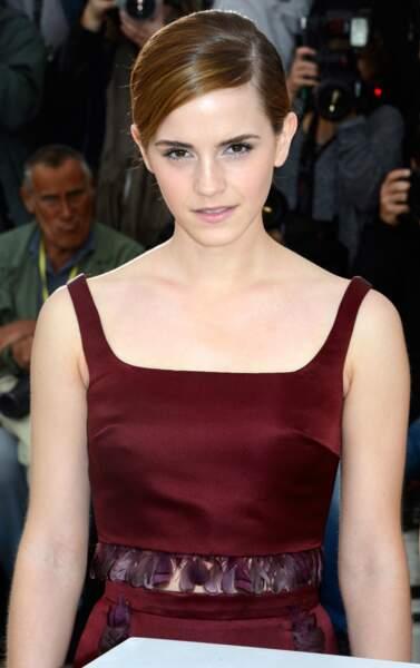 Regard de braise pour Emma Watson, héroïne de The Bling Ring.