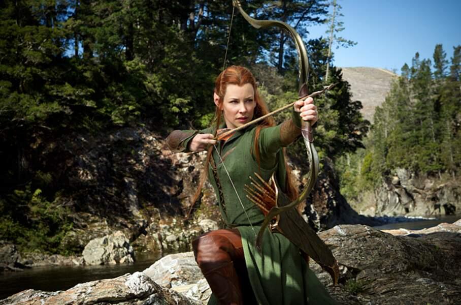 En 2013, Evangeline Lilly a intégré le casting du Hobbit. Elle interprète Tauriel aux côtés d'Orlando Bloom
