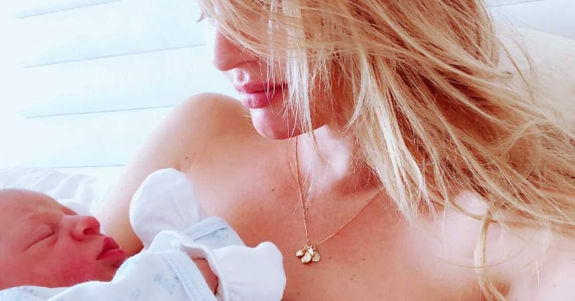 Le 19 juin, la famille s'est agrandi avec l'arrivée d'un petit Ariel