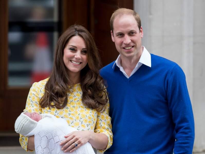 Meghan et Harry seront-ils aussi resplendissants que Kate et William après la naissance de Charlotte ?