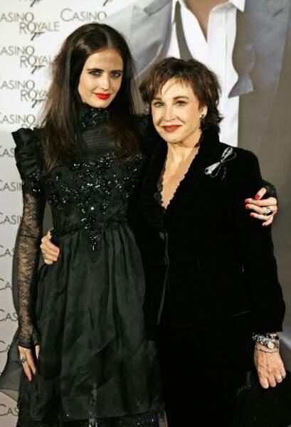 Eva Green et Marlène Jobert ont le même regard... Intense !
