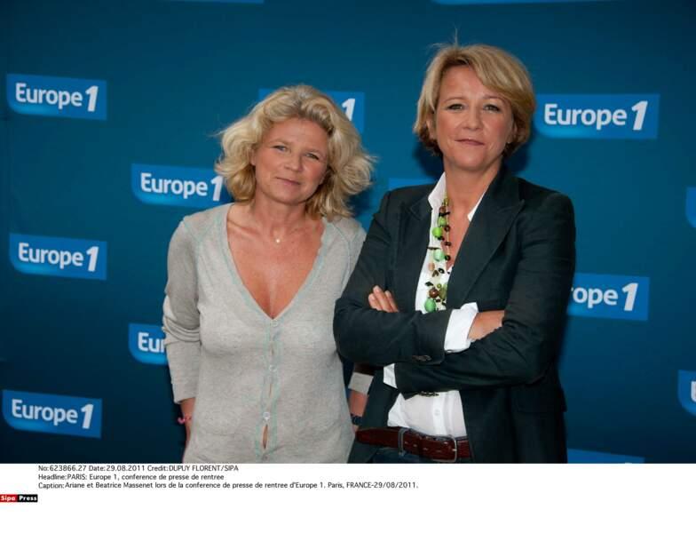 Ariane Massenet et sa sœur Béatrice