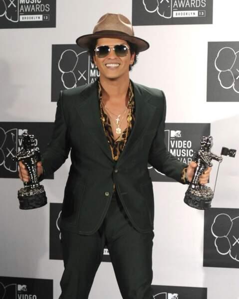 Et de deux trophées pour Bruno Mars, deux !