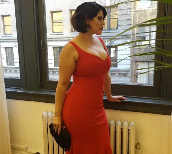 On est amoureux : voici la mannequin américaine Denise Bidot.