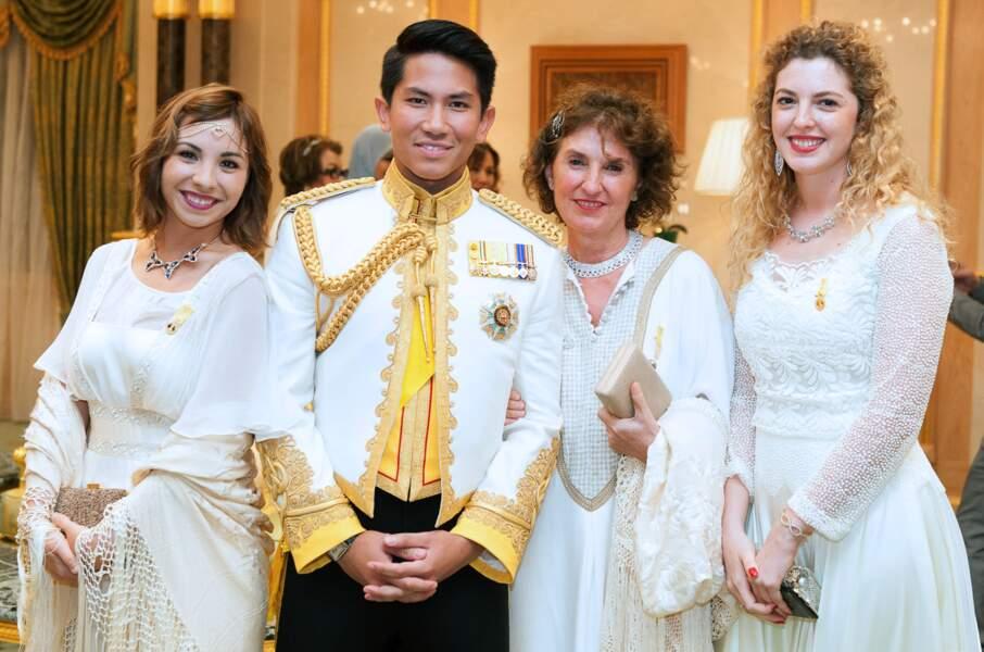 Mateen Bolkiah (27 ans), fils du sultan Hassanal Bolkiah de son ex-deuxième épouse, Puan Mariam binti Abdul Aziz