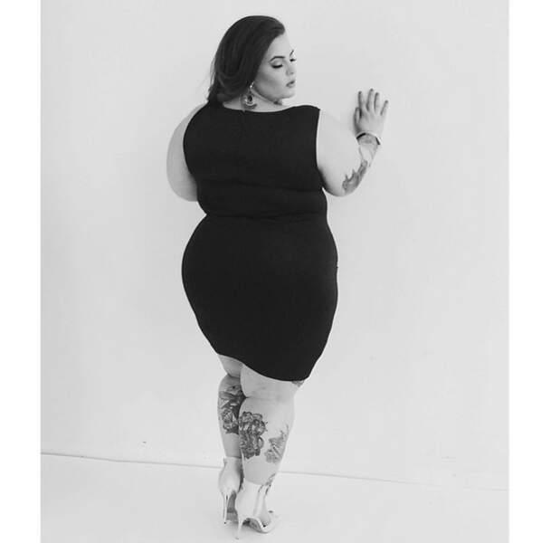 Tess Holliday, une mannequin grande taille qui s'assume