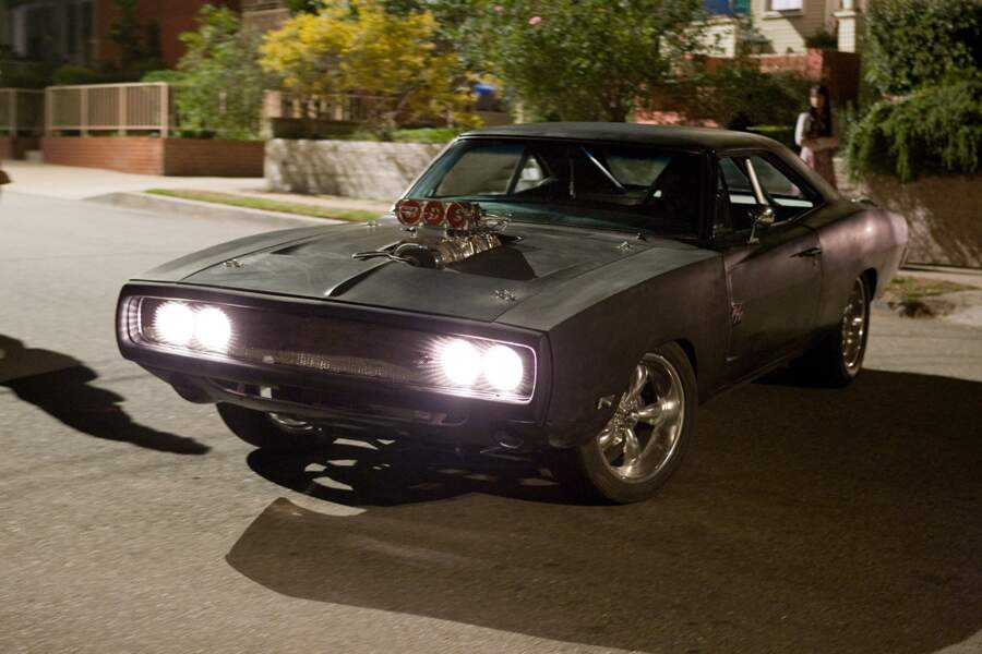 La Dodge Charger de Fast and Furious 4