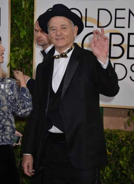 Le toujours très sympathique Bill Murray (Lost in Translation, SOS Fantômes)