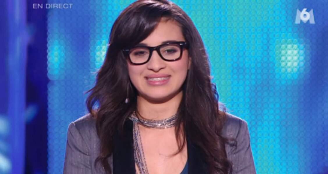 Camelia Jordana se fait remarquer en 2009 dans Nouvelle Star, où elle finit à la 3è place.