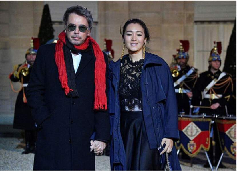 En 2019, Jean-Michel Jarre est apparu avec une autre actrice : la star chinoise Gong Li
